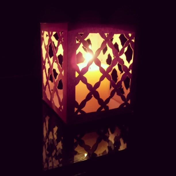 #diwali #candle holder #diy I made this | The Bangalore Snob