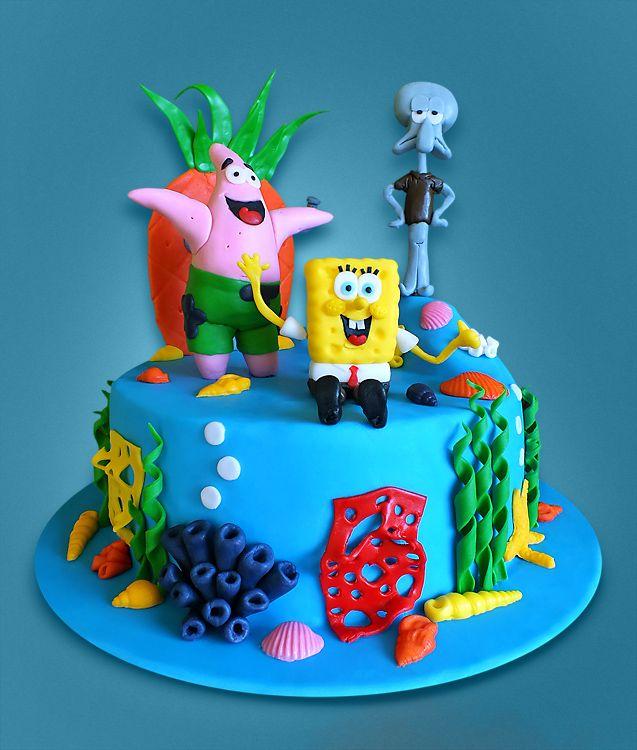 Spongebob s přáteli