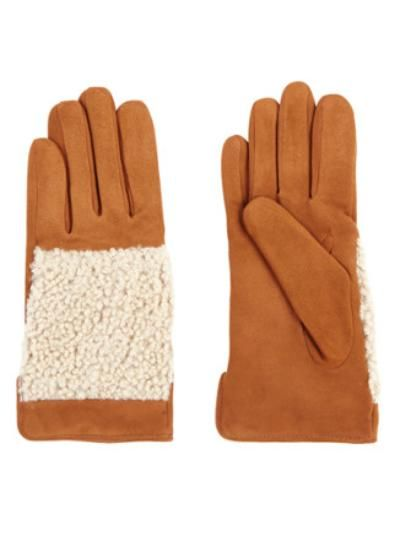 Jigsaw Handschoenen van suède van Bijenkorf