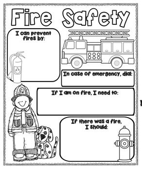 37 best images about fire prevention ideas on pinterest for Fire escape plan worksheet