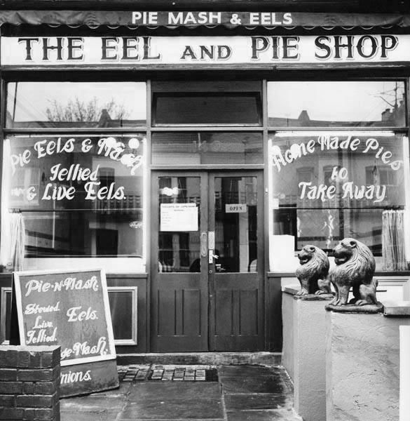 The Eel and Pie Shop, opened in 1968 at 140 Wandsworth Bridge Road