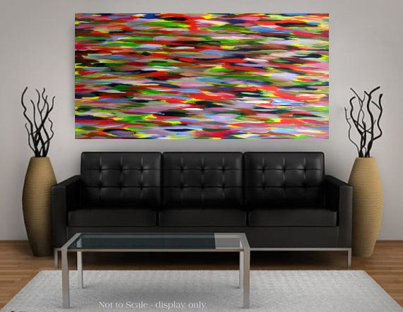 Modern Metal Hand Painted Abstract Wall Art Paparazzi Sculpture / By Jon  Allen