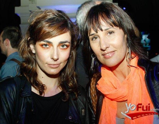 YoFui.com: Javiera Diaz de Valdés, Maya Khamis en Nextel Moda 2012, Centro Cultura Estación Mapocho, Santiago (Chile)
