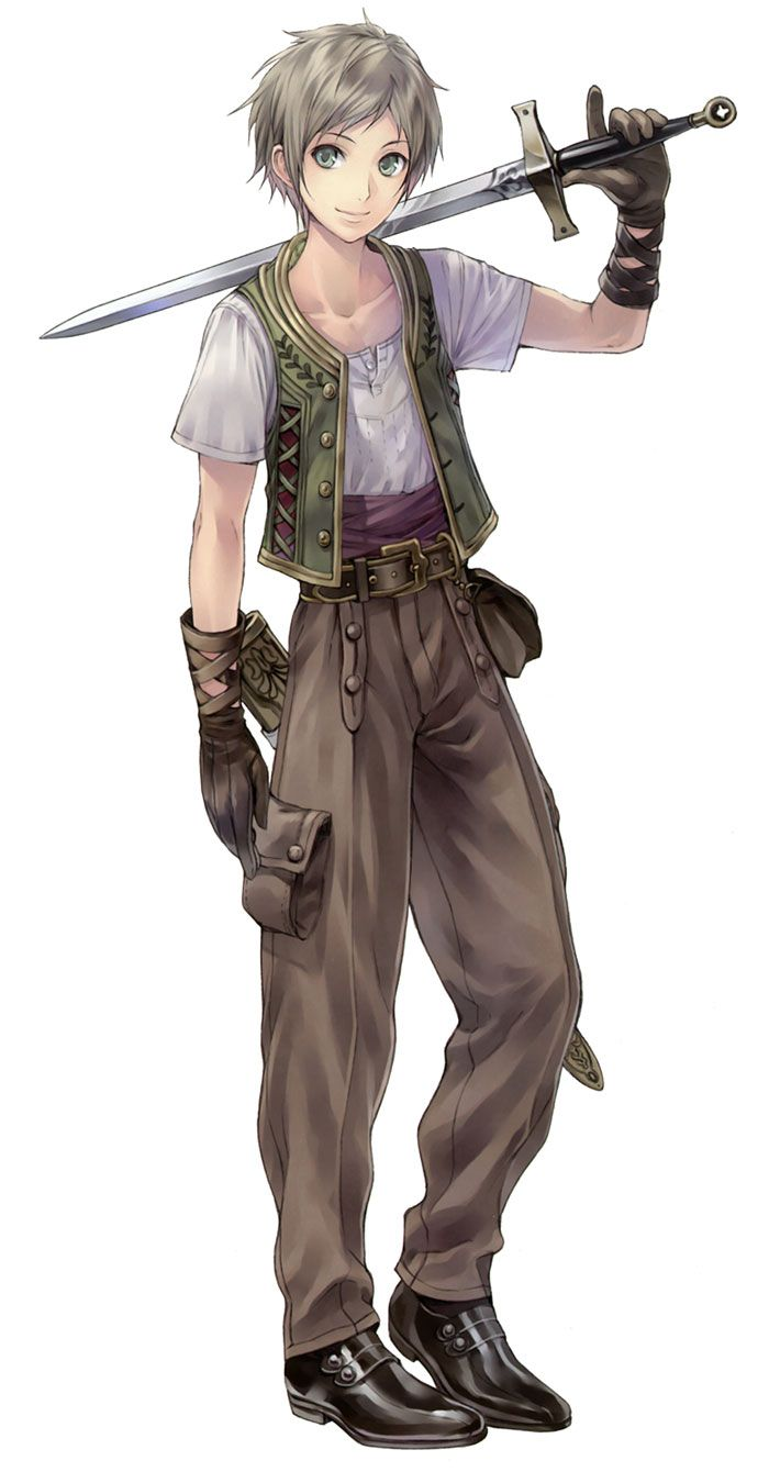 Gino Knab from Atelier Totori: The Adventurer of Arland
