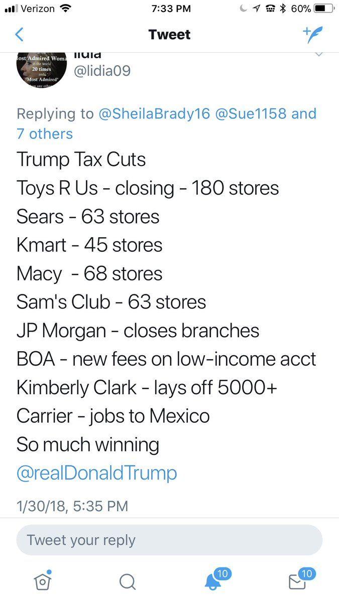 Drdind Im Him Drdind Twitter Trump Taxes Toys R Us Closing Kimberly Clark