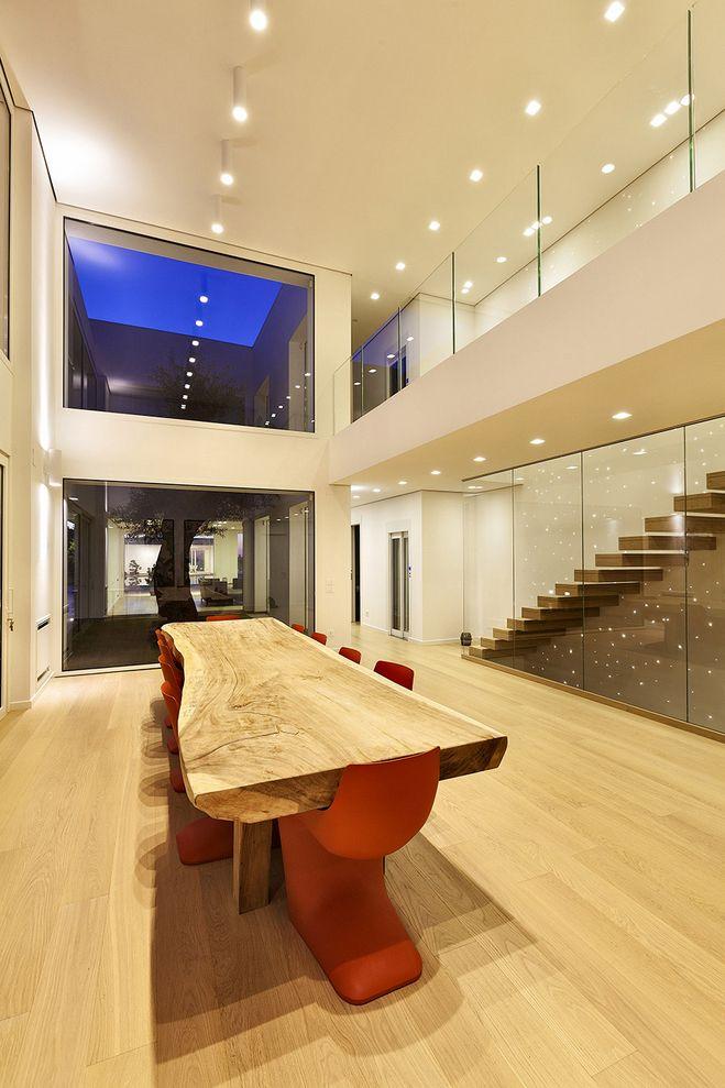 architettura - doppia altezza zona giorno