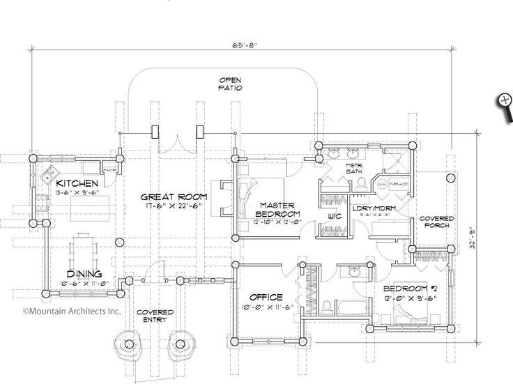 17 best Dream Home images – Precision Log Home Floor Plans
