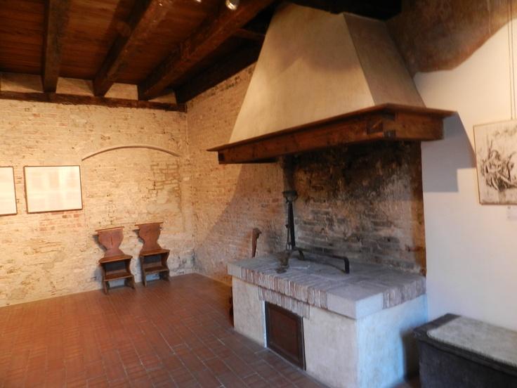 The kitchen, Cima's House, Conegliano