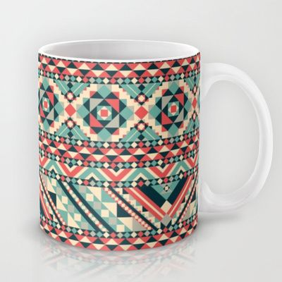 Aztec Pattern Mug by Tami Art - $15.00