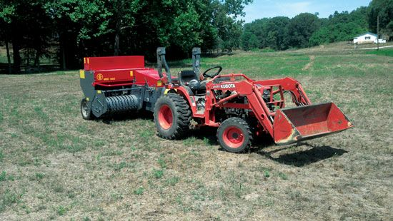 The Abbriata M60 Mini Square Baler Works Well With Compact