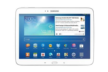 """Samsung Galaxy Tab 3 10.1"""" 16GB Wi-Fi + 4G (White)"""