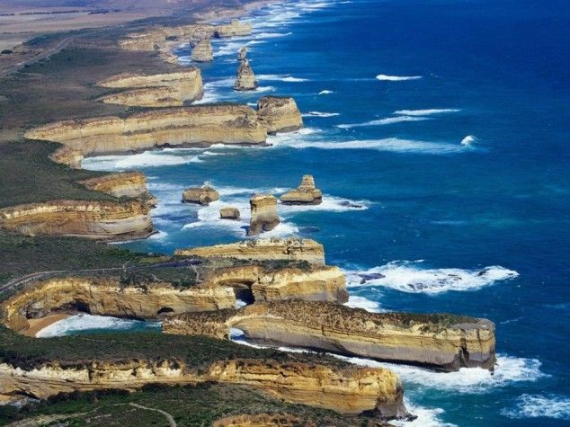20 Most Beautiful Places to Visit in the World-Loch Ard Gorge – Port Campbell National Park – Melbourne – Victoria, Australia
