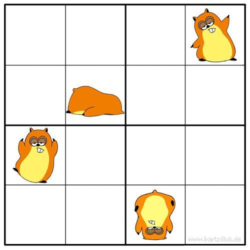 Sudoku - Yoga fürs Hin.