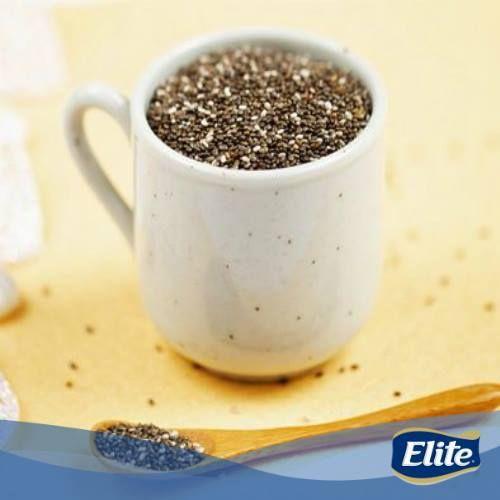 Cuando tengas poco tiempo para comer, no dudes en agregar Chía a tus comidas. Esta pequeña semilla proporciona sensación de saciedad y es alta en Omega 3. ¡Ideal para un día de mucho trabajo!