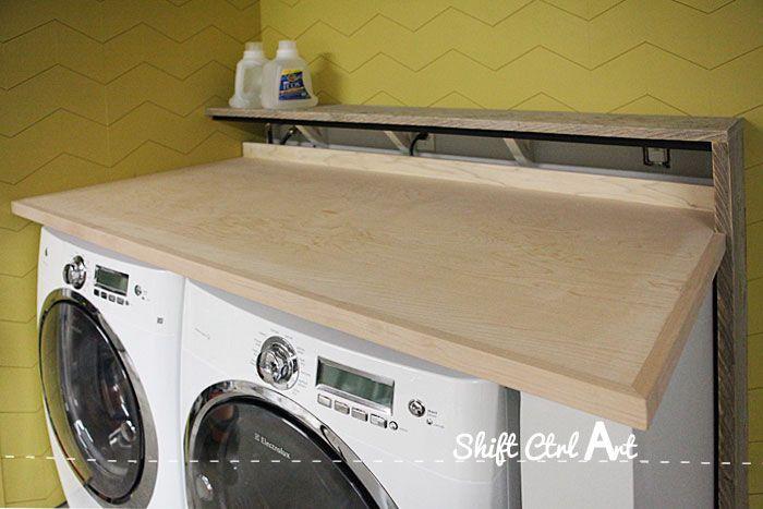 Laundry nook garage make-over - progress
