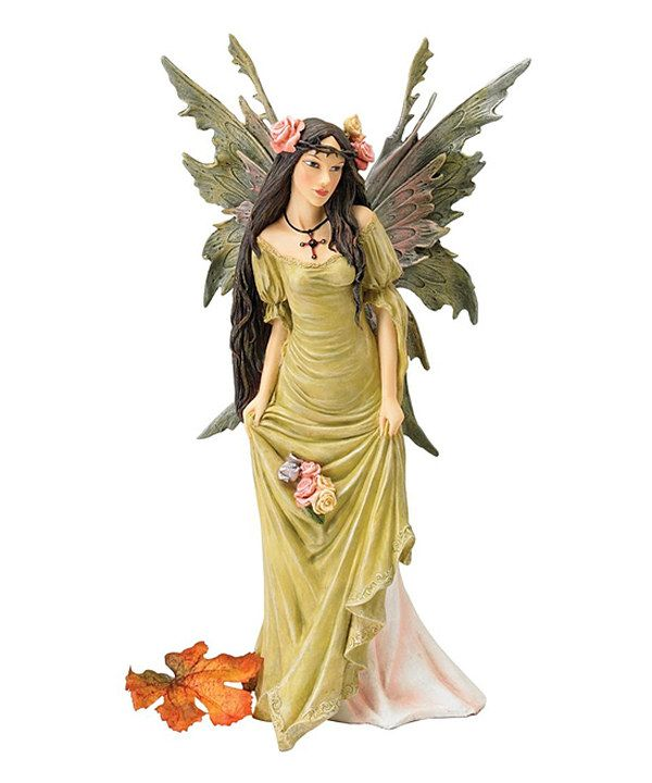 Look at this Moss Fairy Statue on #zulily today!