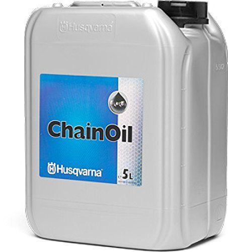 Keep your chains running on the bar freely and easily with a quality chains saw oil by Husqvarna.  Genuine Original Husqvarna Chainsaw Bar & Chain Lubrication Oil. Mineral Chain oil with adhesive agent for high-performance chain saws. Premium Mineral Chain Oil