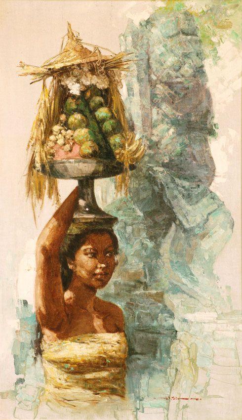 Hasim - Balinese met offergaven