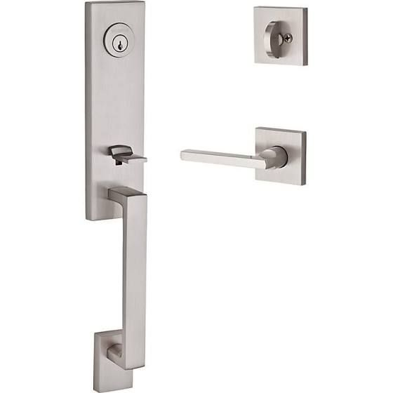 entry door hardware for thick doors with dummy set modern