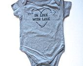 The 'In Love With Love'- Mini Souls T-Shirt or One-piece
