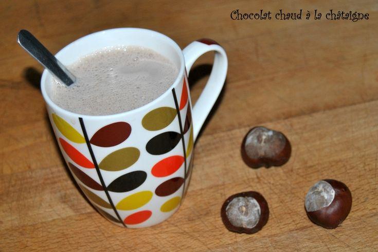 Chocolat chaud à la châtaigne