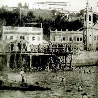 Praia da Santa Luzia, 1917. (enterrada)