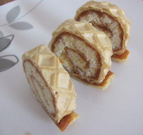 Rulada cu crema de cocos si caramel