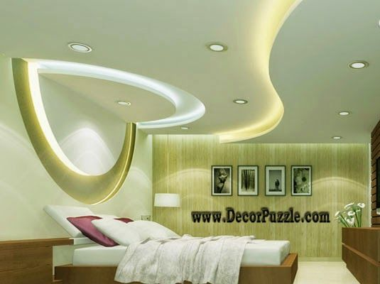 Plaster Of Paris Ceiling Designs For Bedroom Pop Design With Lights