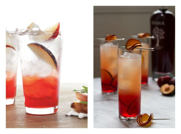 Plum cocktail and plum mocktail recipes perfect for late summer/early fall   Cool Mom Eats