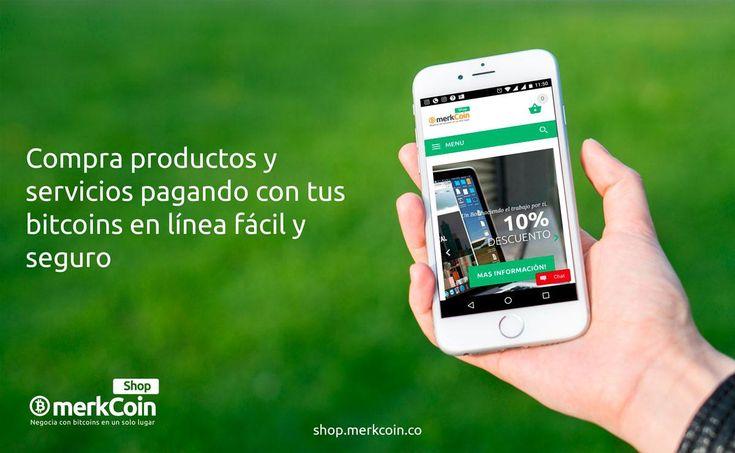 COMPRA Productos y servicios pagando con tus bitcoins en línea fácil y seguro, en toda Colombia, en la mejor TIENDA ONLINE COLOMBIANA basada en Cryptomonedas: Shop Merkcoin  https://shop.merkcoin.co/  Encuentra el portafolio completo en nuestra tienda. Descubre lo que tenemos para ti en nuestra Tienda Online Shop Merkcoin.