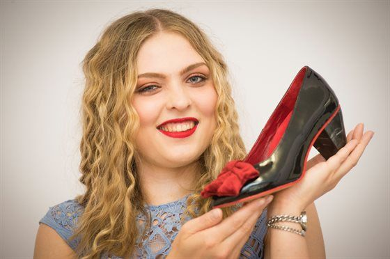 CLASS OF 2017: Chancellor's approval helps shoe designer land dream job