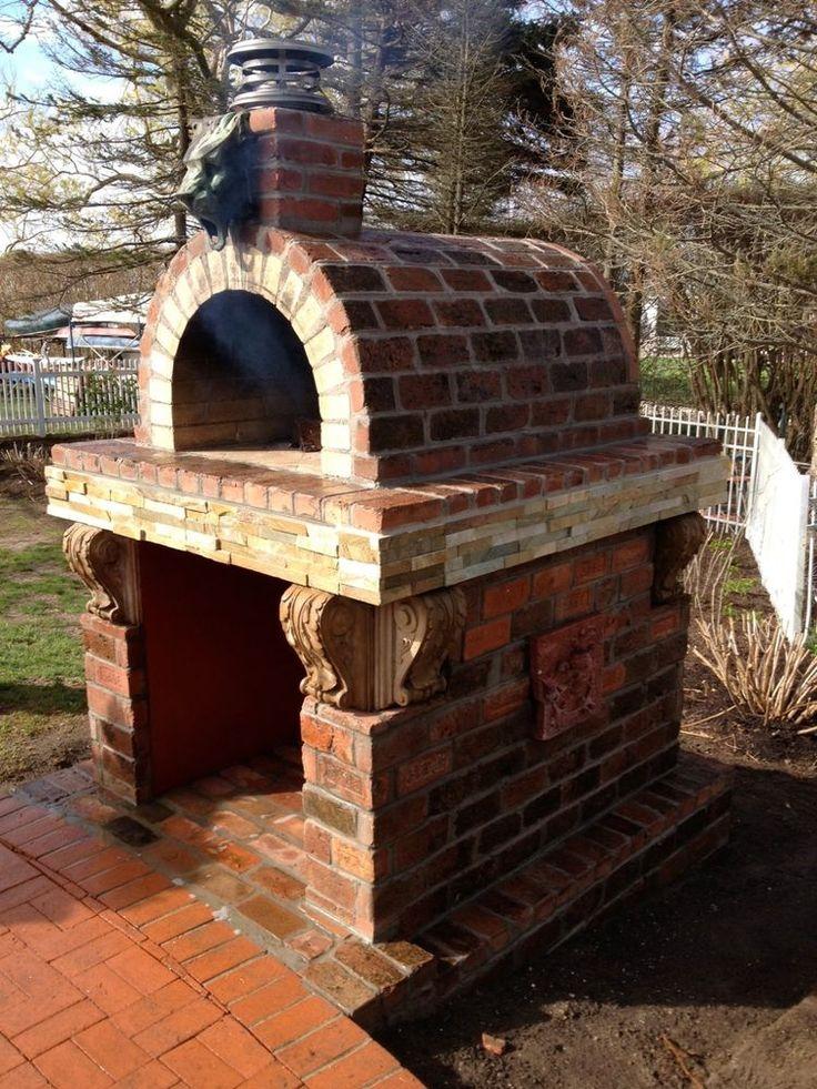 Outdoor Wood Pizza Ovens and DIY Kits - BrickWood Ovens - Mattone Barile Grande #BrickWoodOvens