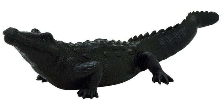 Proud Crocodile Statuette