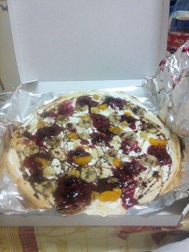 Sladka pizza