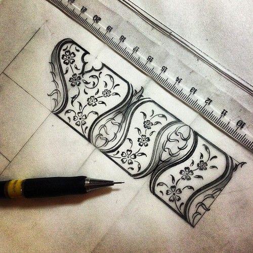 Start to new #design ✏ #drawing #working #artwork #art #mywork #illumination #traditionalart #islamicart #istanbul #turkey
