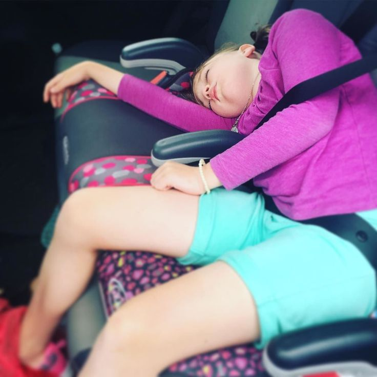 """#tbt to that time my 8 year old firmly declared """"I don't nap!"""" and then passed out like a champ less than 24 hours later..."""