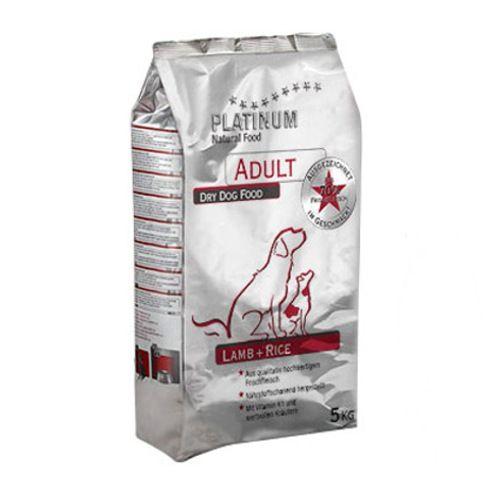 Platinum Adult Cordero Pienso natural seco jugoso para perros