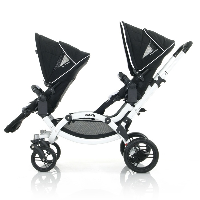 ABC Zoom Twin Stroller (available in Europe only)