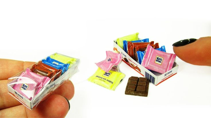 Real Miniature Ritter Sport Mix Chocolate