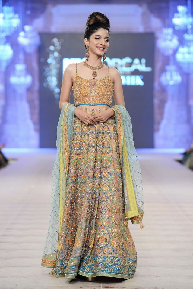 Anarkali by Nomi Ansari Gul Collection at PFDC LOreal Paris Bridal Week 2014