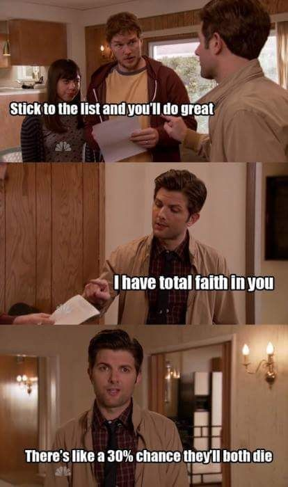 """Because he looks out for Andy and April.   22 Reasons Why Ben Wyatt From """"Parks And Rec"""" Is Actually Your Soulmate"""