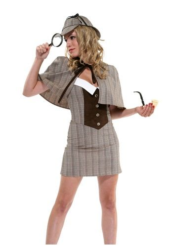 Wear this Sexy Detective Costume and solve a mysterious love crime! It's also a great steampunk-themed costume.