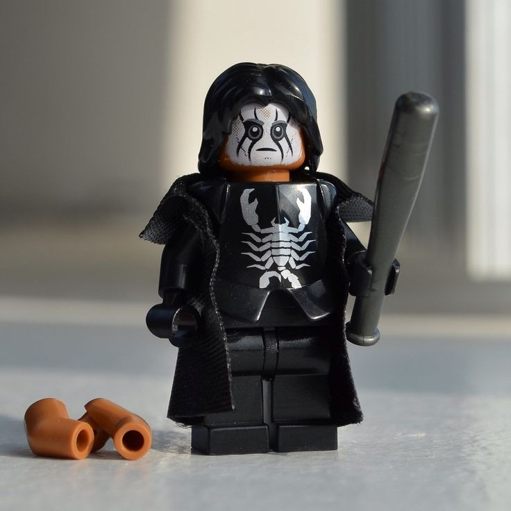 Sting (WWE, wCw, TNA Pro Wrestler) - Custom LEGO minifigure by Qunotoys on Etsy https://www.etsy.com/listing/213072574/sting-wwe-wcw-tna-pro-wrestler-custom