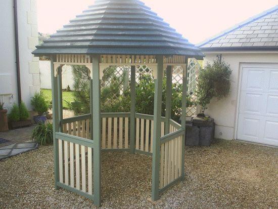 garden gazebo by Simon Rowley