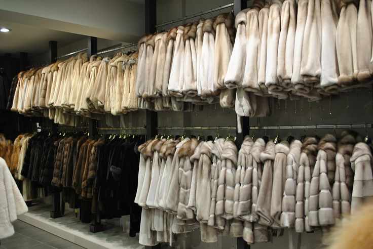 Visit our retail stores and discover a diverse collection of furs.