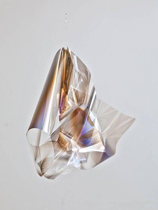 Artist: Larry Bell, Title: Light Knot 30, 2013
