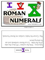 Fabulous, Fun, Free File Folder Games! : Robin Sampson's Blog. This one on Roman Numerals and more!