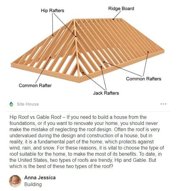 Wood Rafter Hip Roof Connection Details Google Search Hip Roof Roof Design Hip Roof Design