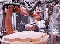 KUKA Roboter GmbH - Industrieroboter - Holzpavillon Landesgartenschau
