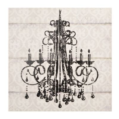 17 Best images about Chandelier painting ideas – Chandelier Canvas Art